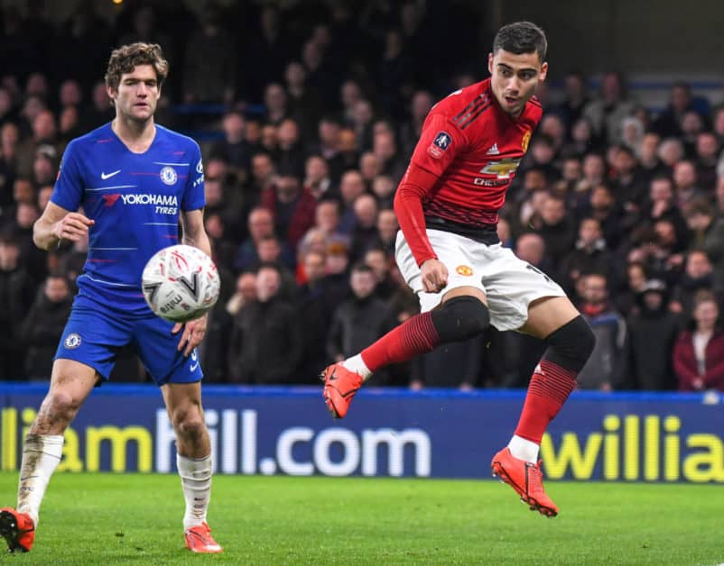 chelsea manchester united alonso pereira
