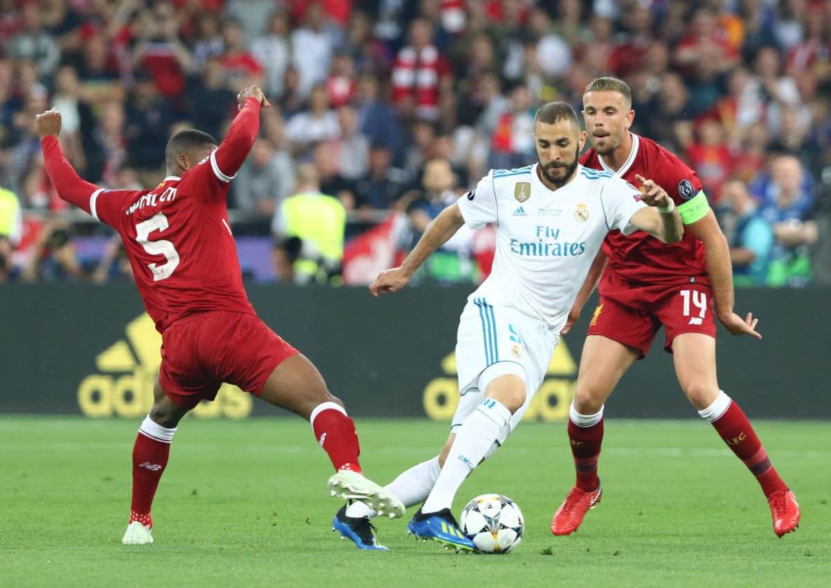 wijnaldum henderson real madrid champions league