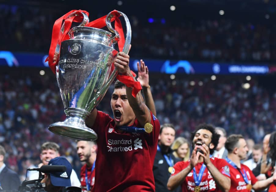 firmino jubel champions league