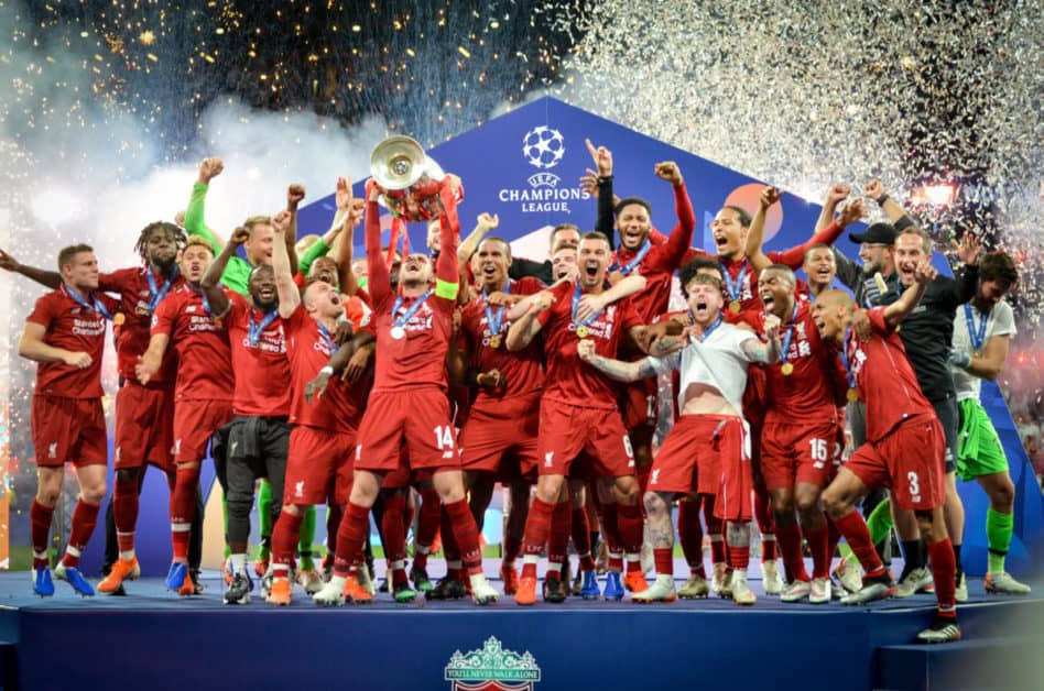 liverpool champions league jubel