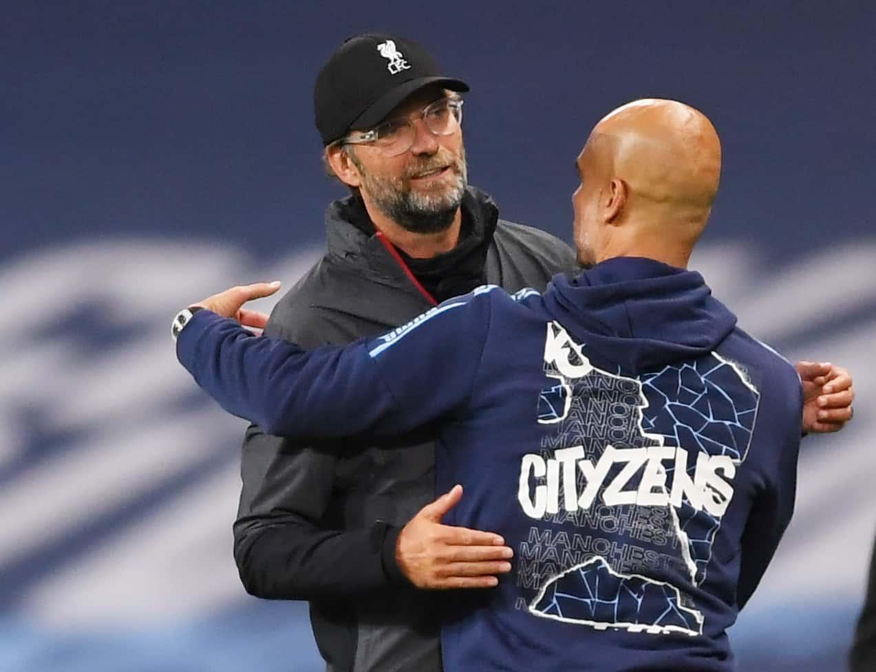 klopp versus guardiola